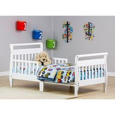 Dream On Me Sleigh Toddler Bed Your Choice In Finish