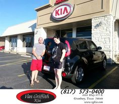 #HappyBirthday to Clarence from Michael Garr at Van Griffith Kia!  https://deliverymaxx.com/DealerReviews.aspx?DealerCode=PXVJ  #HappyBirthday #VanGriffithKia