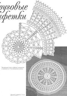 Photo from album on Yandex. Crochet Doilies, Crochet Hats, Views Album, Crochet Earrings, Yandex Disk, Handmade, Crocheting, Mandala, Crochet Lace
