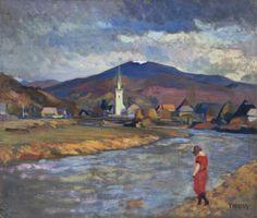 Thorma János painter (1870-1937.12.05) In spring - Thorma János – Wikipédia