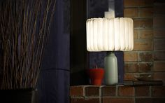 Powered by rechargeable lithium batteries, the lamp is lightweight and can be folded into a compact book.