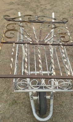 Old wrought iron gate purchased at Pretoria Provance Antiques Market
