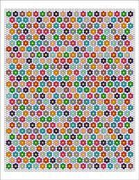 Free English Paper Piecing Single Ring Hexagon Quilt Pattern