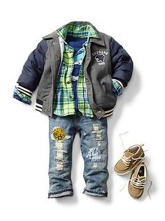 Baby Clothing: Toddler Boy Clothing: Featured Outfits New Arrivals | Gap