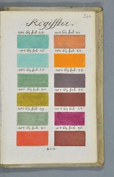 Traité des couleurs servant à la peinture à l'eau 05 /// Interiorator