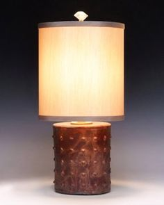 Galileo Lamp by Mary Obodzinski: Ceramic Table Lamp available at www.artfulhome.com
