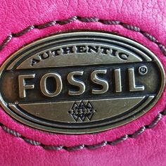 Fossil Leather Oversized Wallet NWT! Hot Pink Leather Wallet with 10 card slots i.d. window brass hardware snap closure. White item shown in pic is the original Styrofoam packing, you know, NWT, just saying...Lol!!! Exterior zip close pocket Top Zip close. NEW. SOFT. SHINY. PRECIOUS!  7W 4.5H. Fossil Bags Wallets