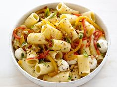 Get Food Network Kitchen's Roasted-Pepper Pasta Salad Recipe from Food Network