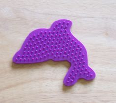 Dolphin Perler Bead Pegboard Ironing Paper by CreativeXpression1