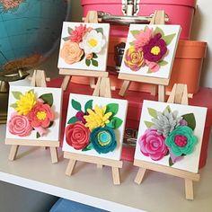 Flores Y Hojas Deco maché X 4 hoja de papel de tejido Parche simplemente creativo