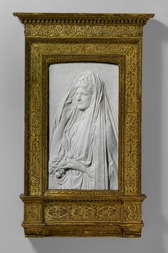 Mrs. Stanford White (Bessie Springs Smith), 1884; this carving, by 1888  Augustus Saint-Gaudens (American, 1848–1907)  Marble