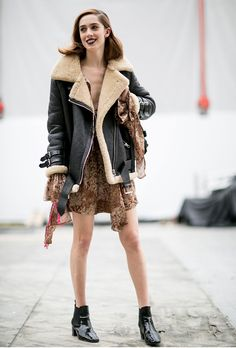 Street Style: 7 New Models to Follow for Their KILLER Off-Duty Style | Teddy Quinlivan @stylecaster
