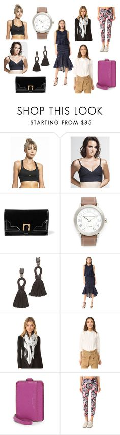 """""""Morning Star"""" by donna-wang1 ❤ liked on Polyvore featuring Michi, Koral, Halston Heritage, Marc Jacobs, Oscar de la Renta, Lela Rose, Kate Spade and LAAIN"""