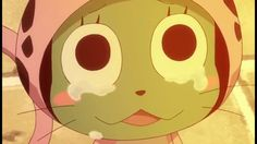 fairy tail, frosch, sad