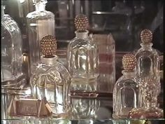 Fashion Fragrance and Flacons - in 1930''s and 1940's in France - YouTube
