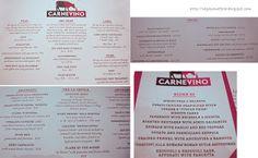 carnevino menu - Google Search