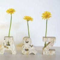 single flower vase and aroma pot
