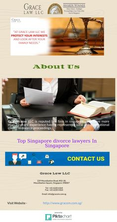Gracem LLCis best Top singapore divorce lawyers in singapore. gracem firm have more over 10year's experience in dealing with divorce, annulment and complicated child custody matters for locals and foreigners.