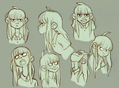 Anna Cattish ✤ || CHARACTER DESIGN REFERENCES | Find more at https://www.facebook.com/CharacterDesignReferences if you're looking for: #line #art #character #design #model #sheet #illustration #expressions #best #concept #animation #drawing #archive #library #reference #anatomy #traditional #draw #development #artist #pose #settei #gestures #how #to #tutorial #conceptart #modelsheet #cartoon