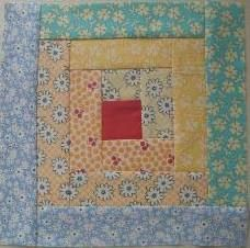Easy log cabin quilt block   I love log cabin blocks, they are limitless in the different quilts you can make with one pattern.  Excellent tutorial videos.