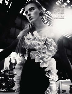 Madison Headrick   Greg Harris #photography   Vogue Russia December 2012