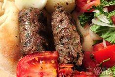 Receita de Kafta ao forno em Carnes, veja essa e outras receitas aqui!