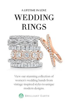 Find the perfect symbol of your love. Discover eternity diamond rings, classic bands, and unique styles.