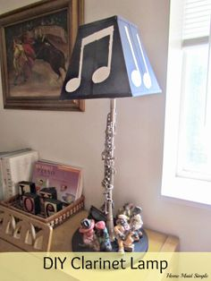 Home Maid Simple: DIY Clarinet Lamp