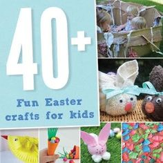 41 fun Easter craft ideas for kids by doris