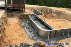 Bain Tennessee Inground Pool Kit Construction Outdoor