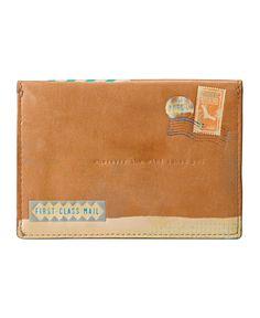 Fossil Passport Envelope