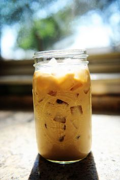 "LOVE this recipe! It's called the ""Perfect Iced Coffee"" and I'm enjoying a glass right now (made a batch last night, finished this morning)- it's really smooth and takes Zero time! Try it! (Oh, and visit Ree's website= The Pioneer Woman= it's wonderful :)"