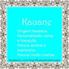 Kauane | Significado dos Nomes