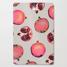 Pomegranate Pattern Cutting Board