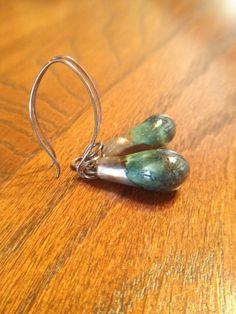 Dangle Earrings Rustic Bohemian Sterling Silver by LadonnaStudio, $35.00