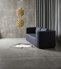 Verpan works closely with the Panton estate (in particular widow Marianne Panton) and produces the majority of Verner Panton's original designs. In 2003 the production of lighting was initiated and in 2010 a furniture range was added. Modern Sofa, Modern Furniture, Furniture Design, Scandinavian Lighting, Scandinavian Design, Psychedelic Colors, Suspension Design, Three Seater Sofa, Scatter Cushions