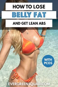 Balance your hormones & lose belly fat following this step-by-step plan. See results in less than 30 days! #pcosweightloss #pcosworkout #howtoloseweight #bellyfat Small Waist Workout, Slim Waist Workout, Belly Fat Diet Plan, Lose Belly Fat, Pcos Exercise, Lose Weight, Weight Loss, Tiny Waist, Stubborn Belly Fat