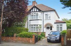 House Extension Plans, Side Extension, Extension Ideas, Semi Detached, Detached House, Tudor House Exterior, Front Garden Ideas Driveway, Best Living Room Design, 1930s House