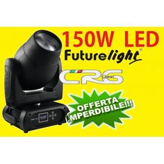 Futurelight DMB-150 testa mobile BEAM 5° con LED a 150W COB