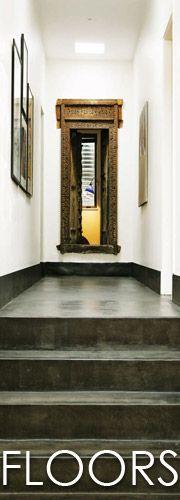 Cemcrete - one day. Floor Coatings, Floor Design, Candle Sconces, Countertops, Floors, Wall Lights, New Homes, Bathroom, House