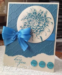 Pacific Navy Sands by stampinupconsultan - Cards and Paper Crafts at Splitcoaststampers