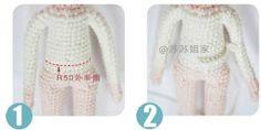 Leithygurumi: Narin Bebek - Türkçe - Ücretsiz - Amigurumi Doll - Free Pattern Baby Knitting Patterns, Amigurumi Patterns, Crochet Dolls, Crochet Baby, Amigurumi Doll, Doll Clothes, Sweaters, Handmade, Bikinis