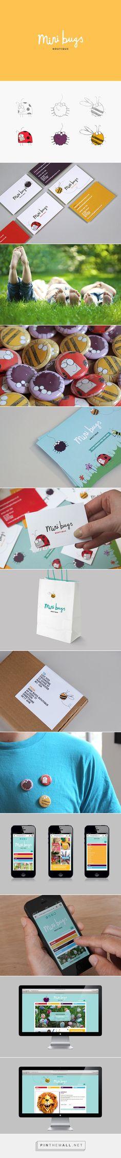 Mini Bugs Branding on Behance - created via https://pinthemall.net
