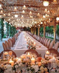 A starry night inspired reception ceiling! Do you love string lights for reception decor? Wedding Ceremony, Our Wedding, Wedding Venues, Dream Wedding, Decor Wedding, Wedding Rustic, Wedding Seating, Wedding Table, Wedding Blog