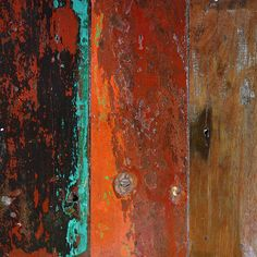 Rust and Patina Photos : 020.photo boatwood