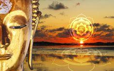 Wanddeko Bild Buddha Golden mach mit bei unserem Gewinnspiel und gewinne zauberhafte Buddha Produkte von Wandatttoo bis Windspiel und Yoga Poster mit Affirmationen für dein Mindset ... Finde dein Seelenglück Yoga Studio Design, Gautama Buddha, Lotus Design, Chakra Meditation, Yoga Inspiration, Third Eye, Ayurveda, Wand Tattoo, Buddha Lotus