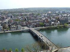 View from the Citadel of Namur, #Belgium #Citadel #beautifulplaces