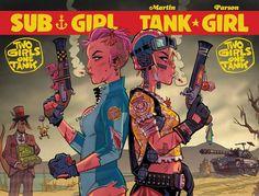 The Nerd-Saurus — Tank Girl: Two Girls One Tank #4 (2016) //...