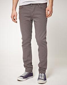 grey skinny man jeans