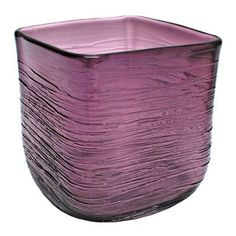Design Toscano St. Enimie Square Glass Vase